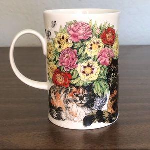 Fine bone China cat mug